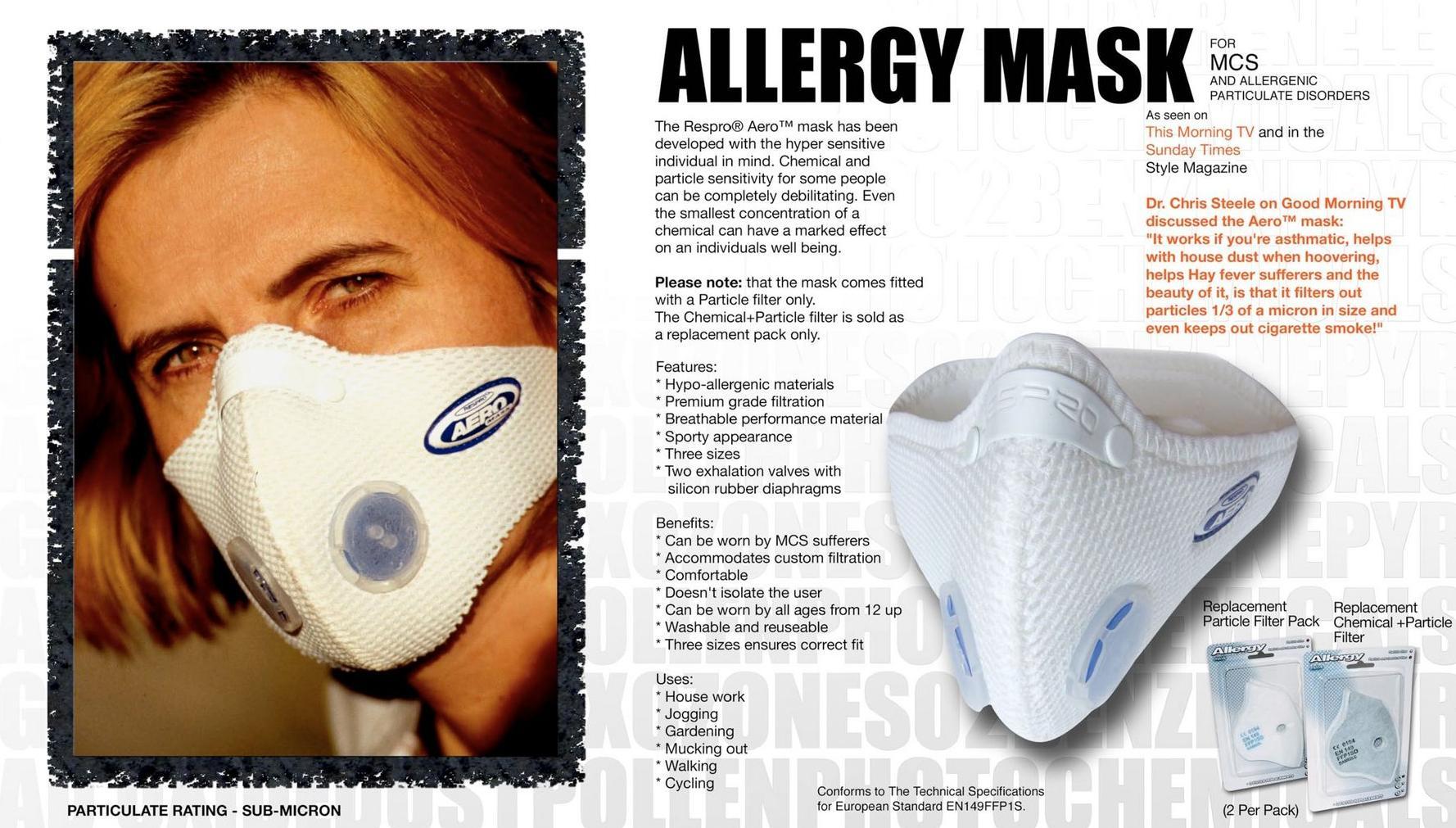 Respro Allergy Mask Respro Bulletin Board