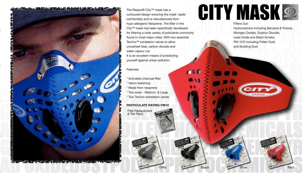 City Mask Respro 174 Bulletin Board