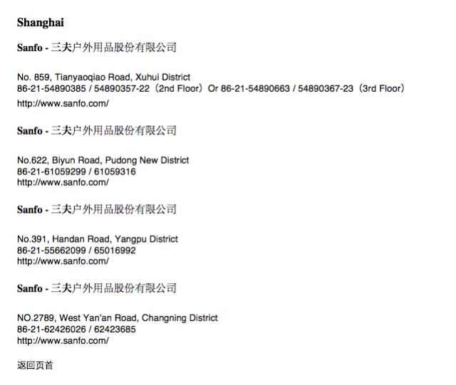 SHANGHAI DEALERS