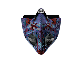 Respro® Skins™ pollution mask - LEAVES Pattern 1 #matchyourstyle